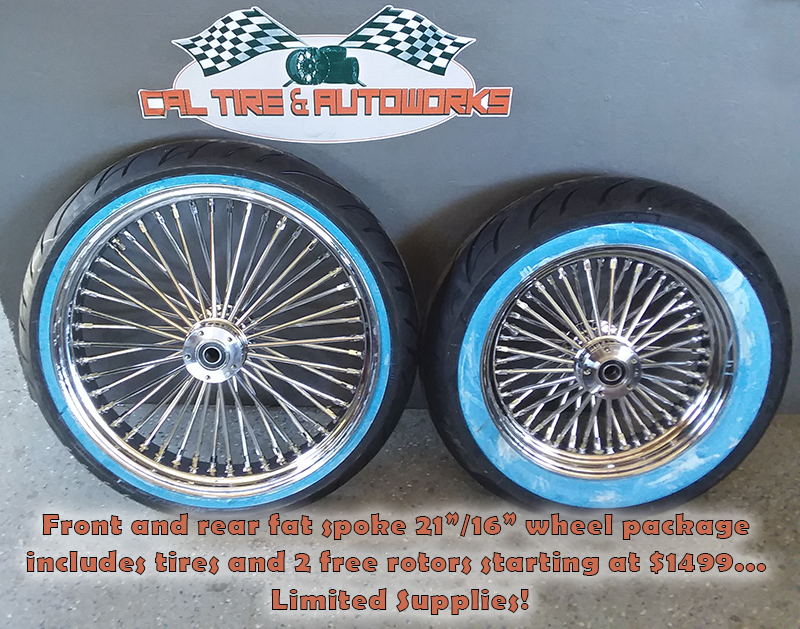 Motorcycle Used Tires RC Components Inc.